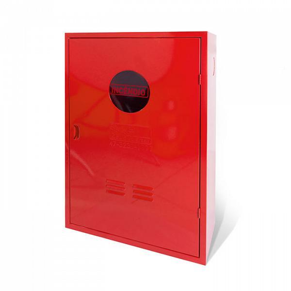 Caixa metálica mangueira sobrepor com visor 45x75x17cm