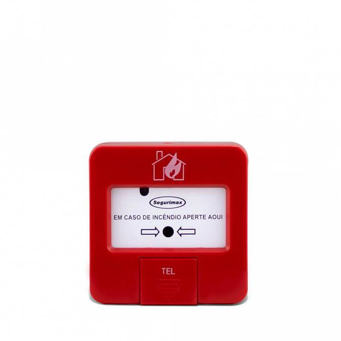 Acionador manual IP20 24v endereçável