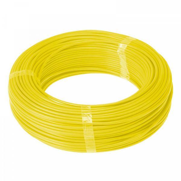 Cabo Flexível 750 V 1,5 mm rolo com 100 metros amarelo