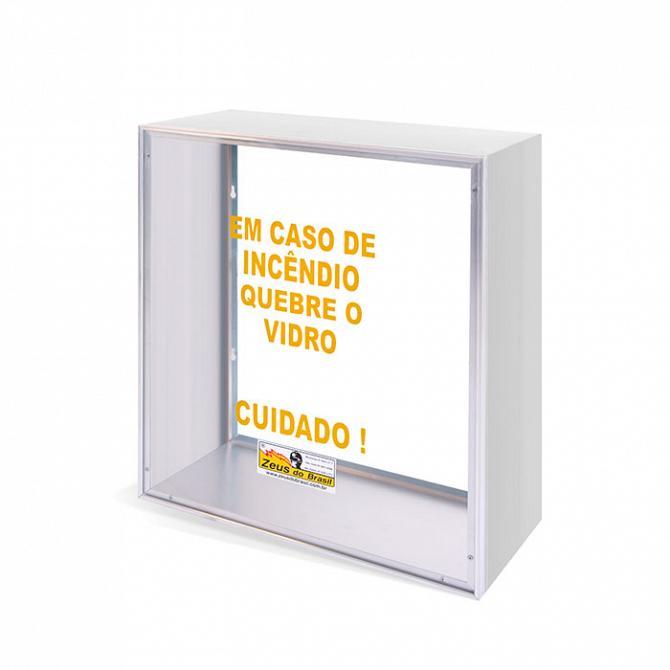 caixa de alumínio dupla