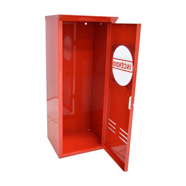 Caixa metálica para extintor P4, P6, P8, P12 e CO2 4-6kg - 30x75x25cm