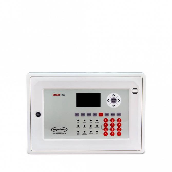 Central de alarme de incêndio 125 endereços IP20 24v com bateria