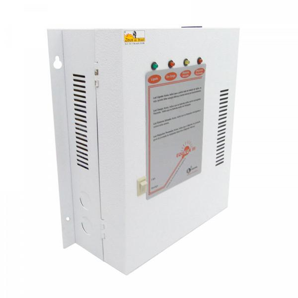 Central iluminação emergência 24V/1500W sem bateria
