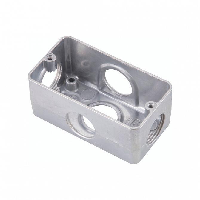 Condulete multiplo x 1'' sem tampa em alumínio