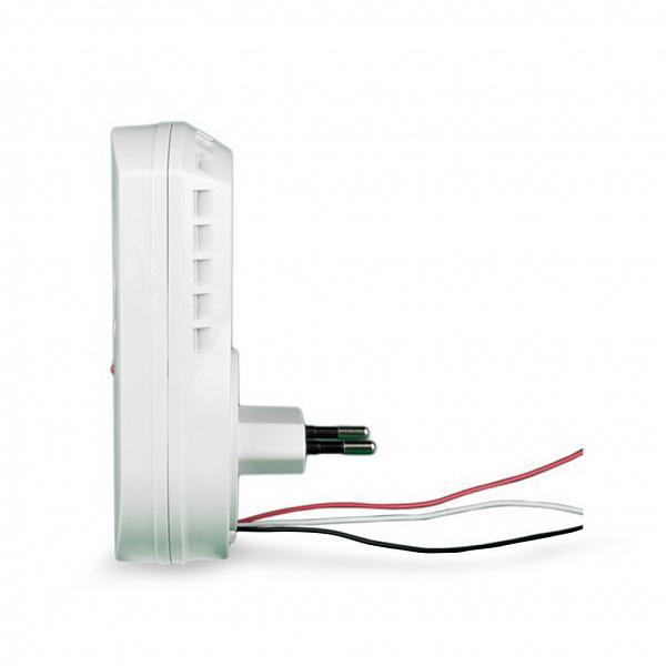 Detector de vazamento de gás GLP e GN (gás de cozinha) com sirene - 127/220V com saída para rele NA/NF