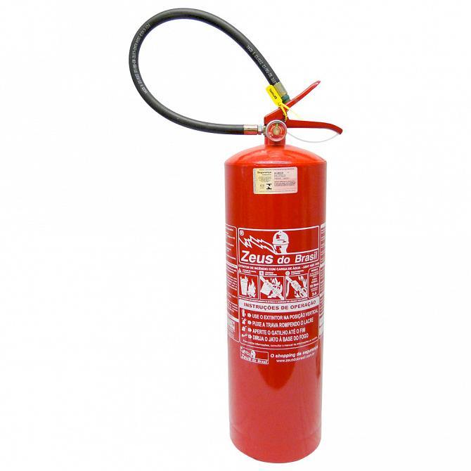 Extintor água 10l A