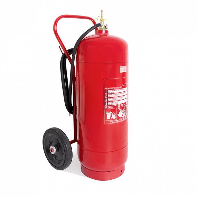 Extintor carreta água 75l A