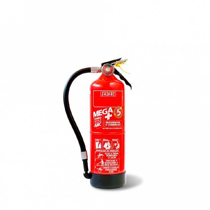 Extintor PQS 2kg ABC - carga para 5 anos