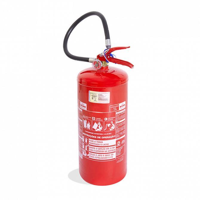 Extintor PQS 4kg ABC - carga para 3 anos