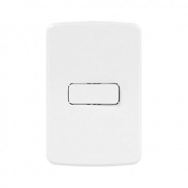 Interruptor Simples 10A-250V com Placa 4x2