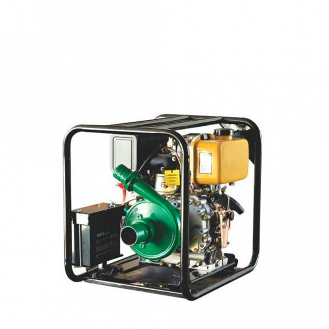 Motobomba motor diesel BFD BFDE 7cv completo com bombeador - Zeus do Brasil