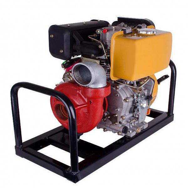 Motor á diesel BFDE 10cv  com bombeador acoplado - Zeus do Brasil