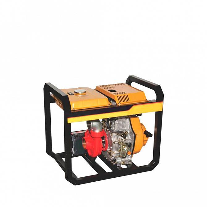 Motor diesel com bombeador acoplado 13cv