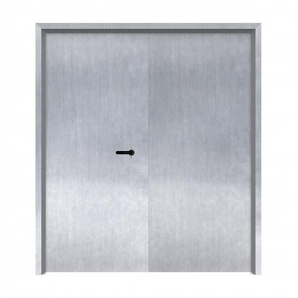 Porta Corta Fogo Dupla (P-90) - Verso - Zeus do Brasil