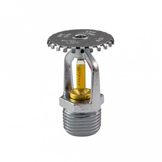 Sprinkler upright 79º 1/2'' cromado amarelo