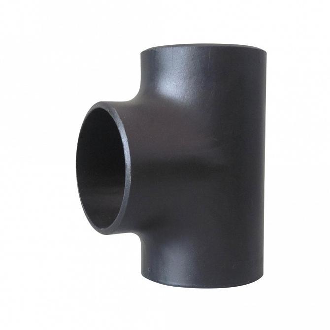 Tee de redução aço carbono SCH40 p/ solda