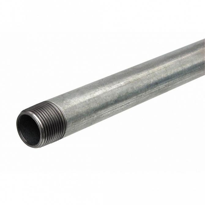 Tubo aço galvanizado 3 metros NBR 5580 L
